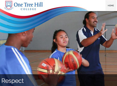 Website Design E-commerce for One Tree Hill College